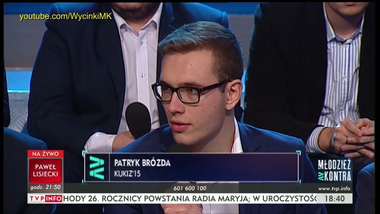 Młodzież kontra 620: Patryk Brózda (Kukiz'15) vs Jan F. Libicki (PO) 02.12.2017