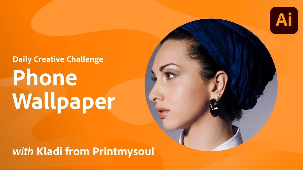 Illustrator Daily Creative Challenge - Phone Wallpaper