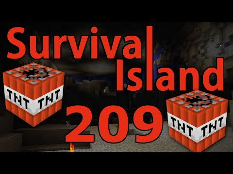 Minecraft- Survival Island [209] BLAST MINING