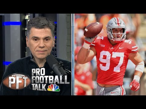 NFL Draft 2019: Kyler Murray, Nick Bosa have same odds to go No. 1 | Pro Football Talk | NBC Sports