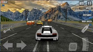 Drive in Car on Highway - Car Racing games - Android Gameplay FHD #3