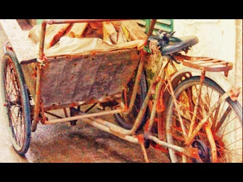Restoration car cyclo antique 1930 | Very old transport tool restore