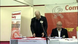 Robert Griffiths at 52nd Communist Party Congress