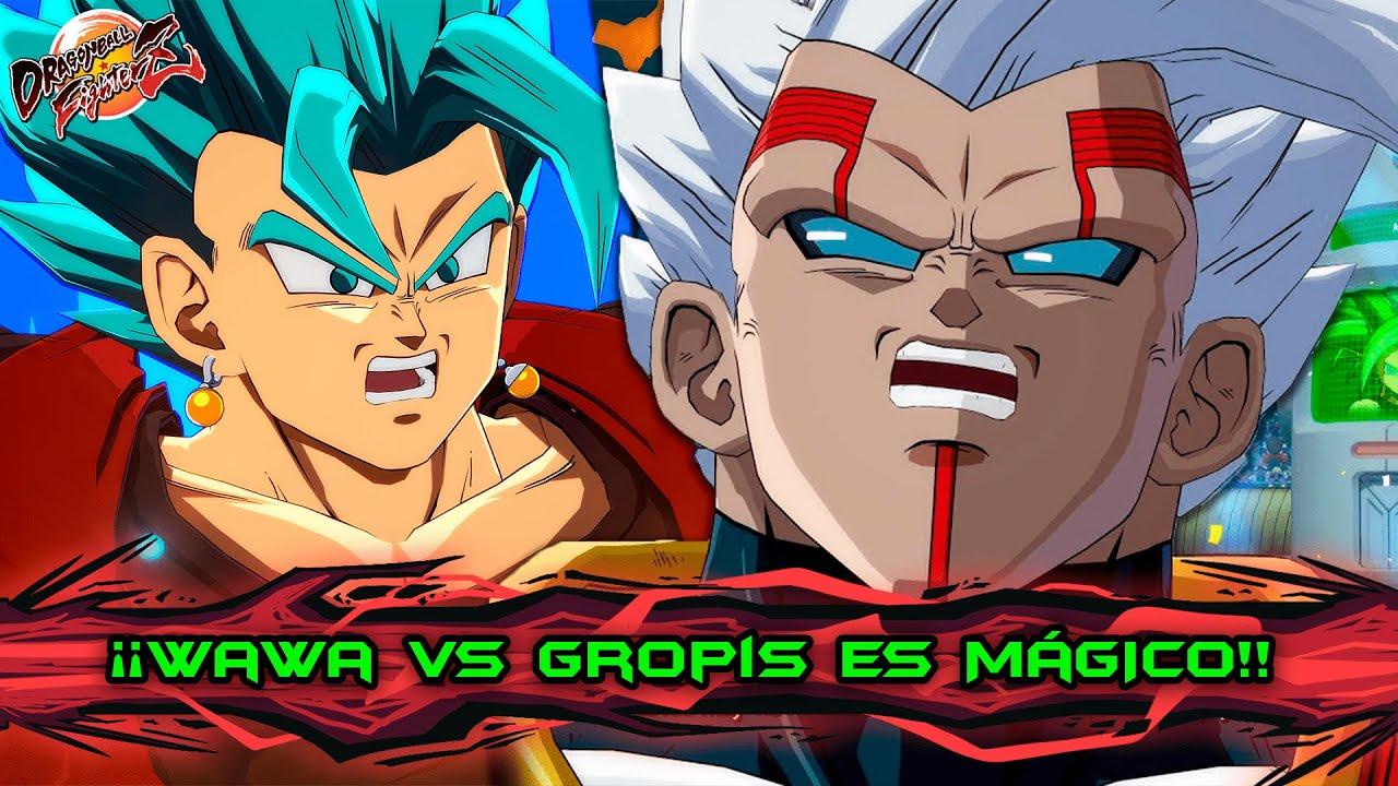 ES HORA DEL MEJOR SHOW!! WAWA vs GROPIS ES INCREÍBLE!! DRAGON BALL FIGHTERZ