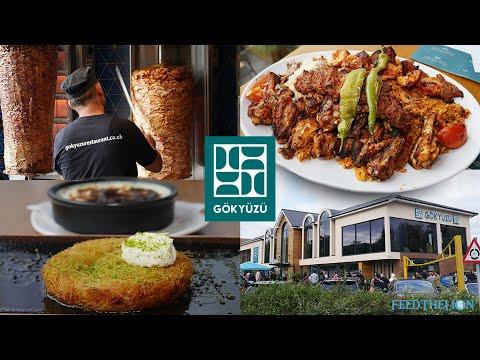 Gokyuzu - award-winning chargrilled Halal Turkish restaurant in North London's Finchley