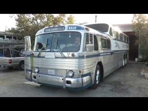 Motor Bus Society 2016 Fall Convention Sacramento, CA  1956 Greyhound Scenicruiser PD4501