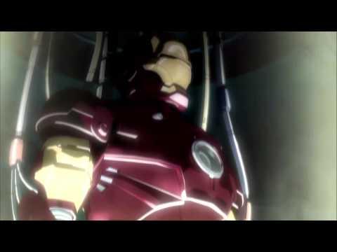 Iron Man Anime Movie Trailer