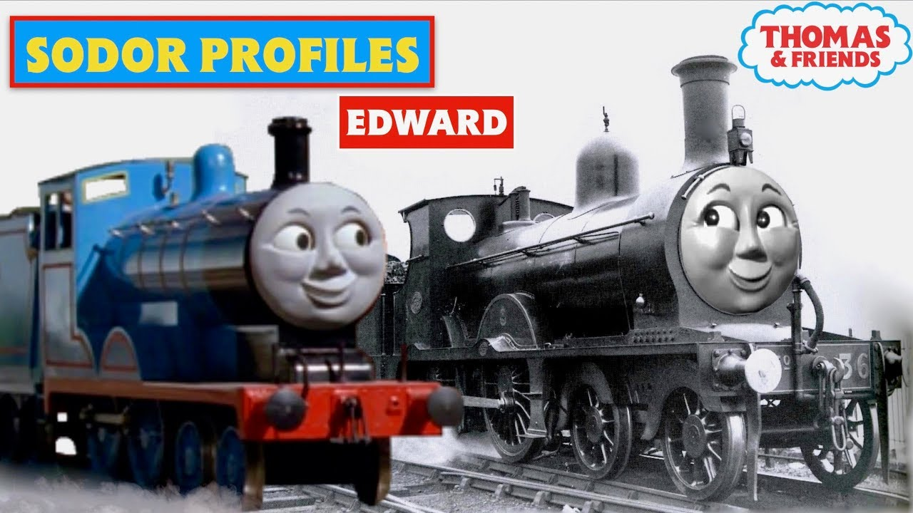 Thomas Friends In Real Life Edward The Blue Engine Episode 2