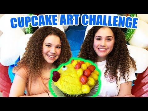 Cupcake Art Challenge (Haschak Sisters)