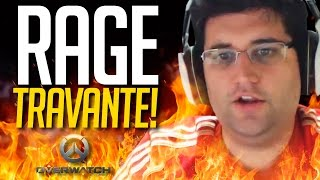 RAGE DA TELA TRAVANDO! Overwatch