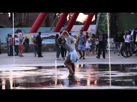 Танцевальный флешмоб в Харькове