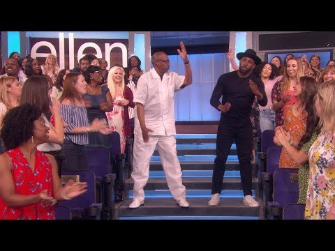Ellen's Dancer of the Day Raises the Roof