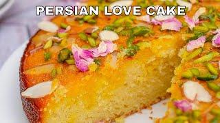 Persian Love Cake | Rose Pistachio Cake