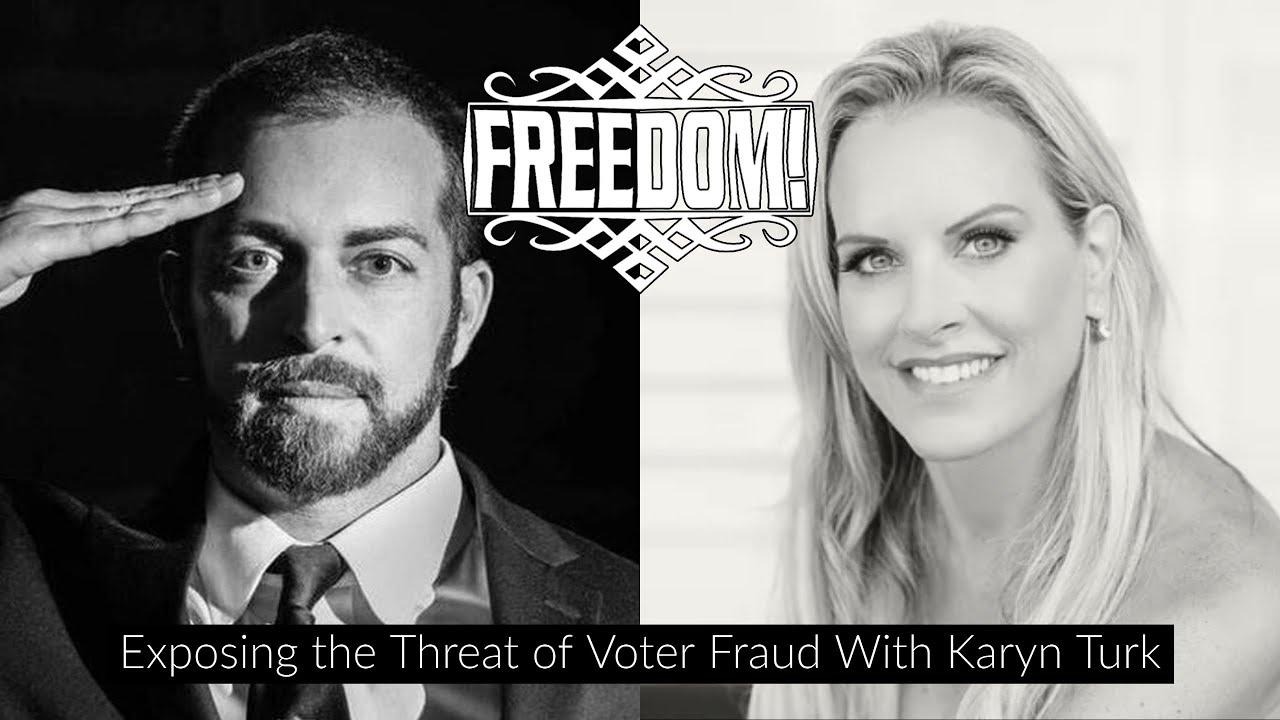 Exposing Voter Fraud - Karyn Turk and Adam Kokesh