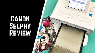 Review of my Canon Selphy Photo Printer
