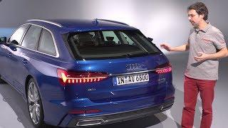 Audi A6 Avant 2018 : présentation intérieur et extérieur du nouveau break Audi