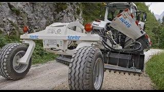 Stehr Mounted grader SUG 35 T Berchtesgaden Jennerbahn