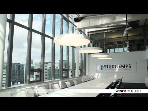 WINI Büromöbel: Referenzobjekt STUDITEMPS Köln
