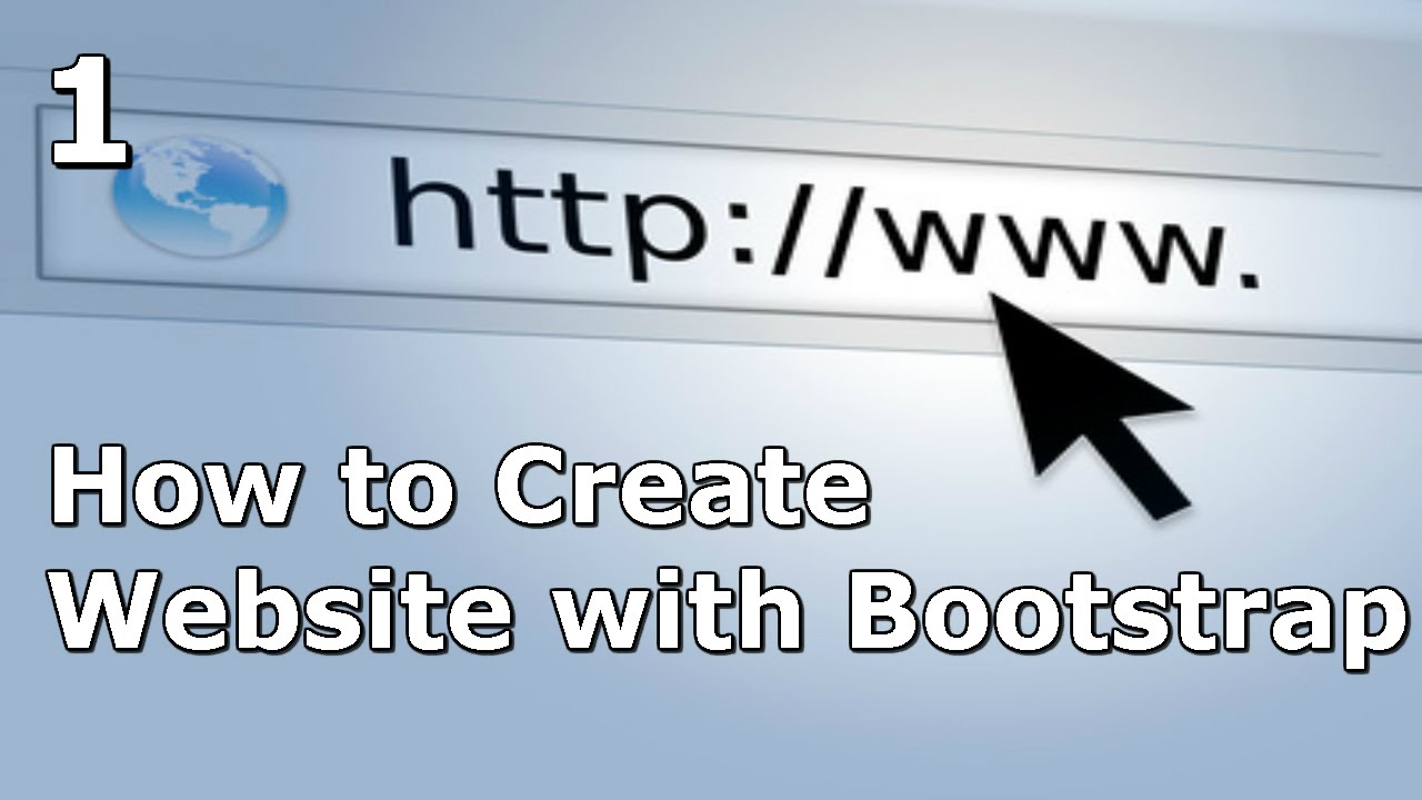 How to Create a Website with Bootstrap - Setup and Tricks - Part 1