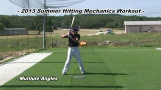 Nick Sueppel - 2013 Catching & Hitting Mechanics w/ Select Ball Footage