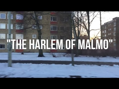 """THE HARLEM OF MALMO, SWEDEN"""