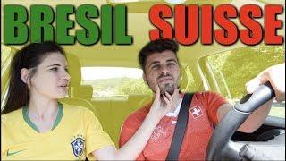 BRÉSIL vs SUISSE - Football