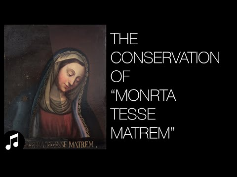 The Restoration Of Mother Mary
