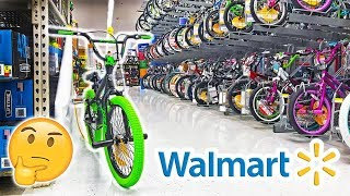 EXPOSING WALMART BIKES! Are they safe?