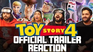Toy Story 4 - Official Trailer - Reaction
