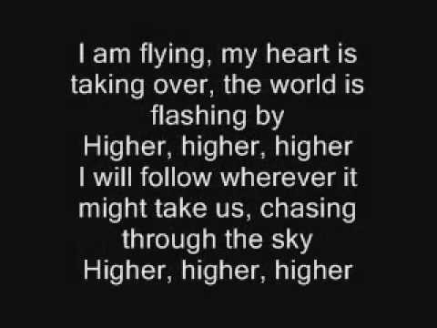 Erik Grönwall - Higher - Lyrics