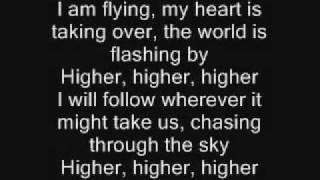 Erik Grönwall - Higher - Lyrics