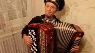 Мелодия казахской песни на баяне - играет Виктор Доценко