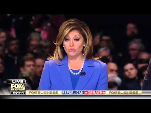 FULL 6th GOP Debate, Fox Business MAIN Republican Presidential Debate 1 14 2016