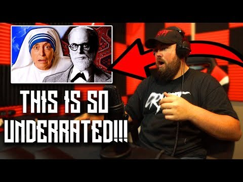 RAPPER REACTS to Mother Teresa vs Sigmund Freud. Epic Rap Battles of History