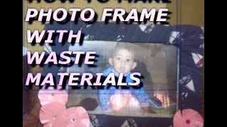 Photo Frame Ideas From Waste Material | Diy Photo Frame