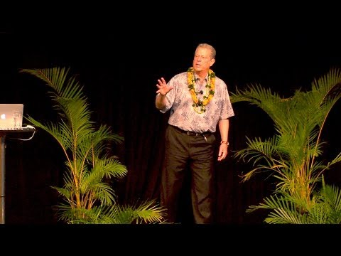 Al Gore headlines major sustainability conference at the University of Hawaii