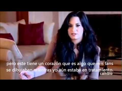 Demi Lovato Explica El Significado De Su Nuevo Tatuaje Subtitulos