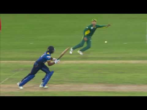South Africa vs Sri Lanka - 5th ODI -  Lahiru Madushanka Wicket