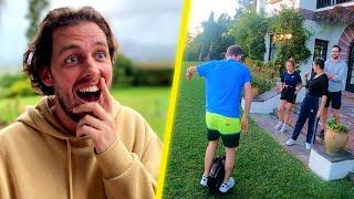 Pierre découvre ce qu'on fait hors caméra dans la villa...