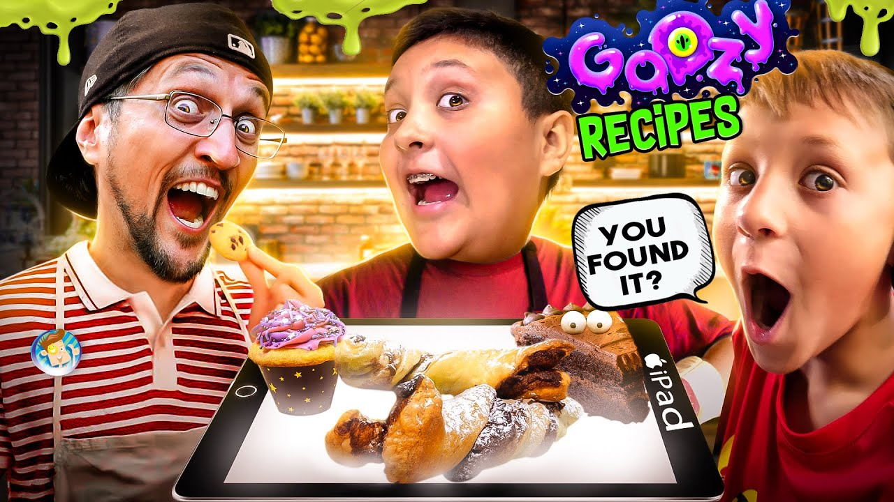 LOST IPAD, FOUND AGAIN! + FGTeeV Goozy Recipes (FV Family Vlog)