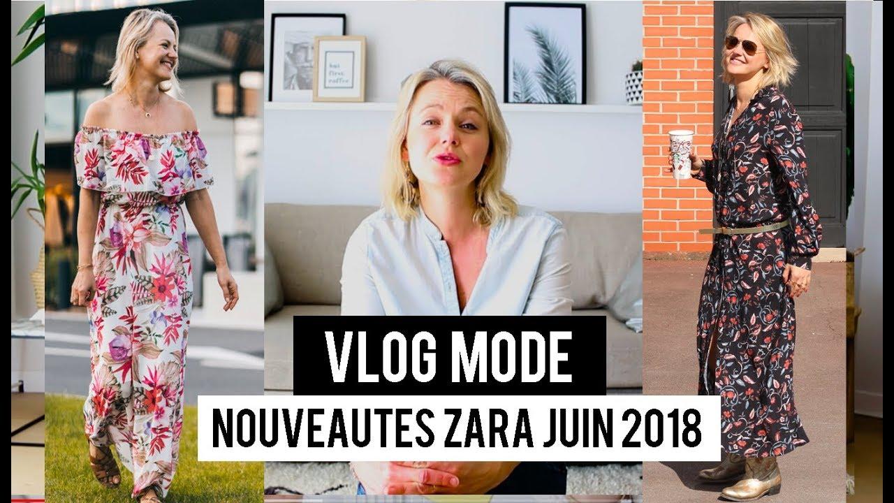 Nouveautes Zara Juin 2018 Haul Mode Youtube