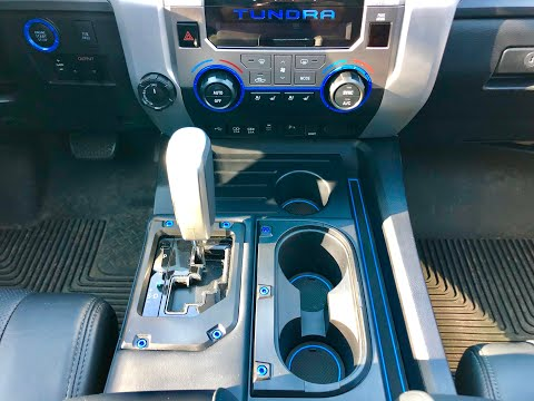 Toyota Tundra Disassembly And Removal Of Dash