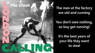 The Clash - Clampdown [Lyrics]