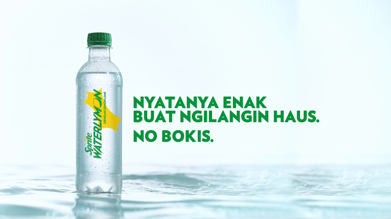 Iklan Sprite Waterlymon Air Lemon Lime Berasa Enak 5s Youtube