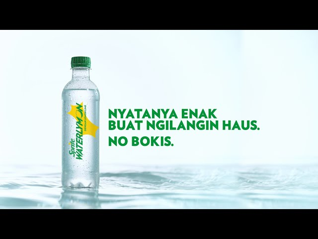 Iklan Sprite Waterlymon Air Lemon Lime Berasa Enak 5s Coca
