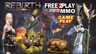 Rebirth Online ★ Gameplay ★ Free to Play MMO ★ PC Steam game 2020 ★ Ultra HD 1080p60FPS