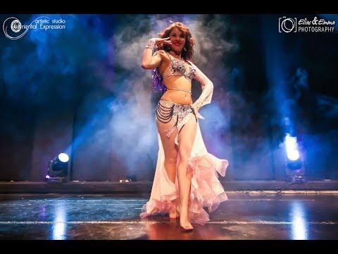 "Julia Farid ""Drum Solo & Shaabi""   Oriental Expression Show"