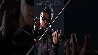 Maroon 5 feat Cardi B. - Girls Like You Violin Cover (VOLUME BOOST) Video