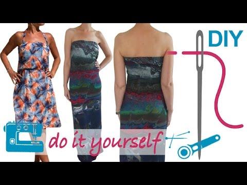 DIY Kleid nähen für Anfänger – Jerseykleid, Maxikleid, Chiffonkleid ...