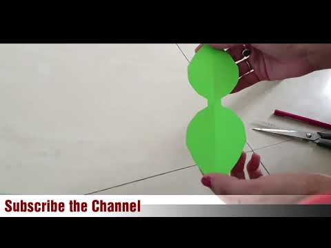 How to make Paper Bow/Two different style paper bow/paper craft ideas/school supplies/back to school